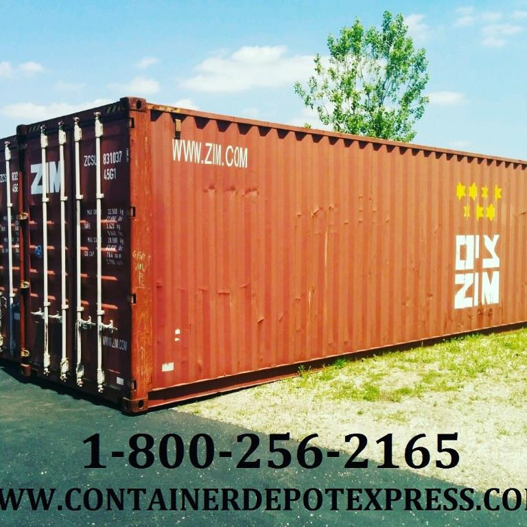 NEW or USED STEEL SHIPPING CONTAINERS FOR RENT OR PURCHASE Ontario